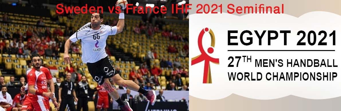 Sweden vs France is the semifinal match in the World Men's Handball Championship. Check out the best ways to live stream this match.