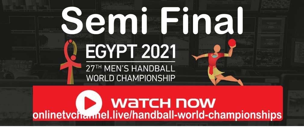 27th Watch World Men's Handball Semifinal Championship is closing to the quarter finals. Watch the Reddit live stream now.