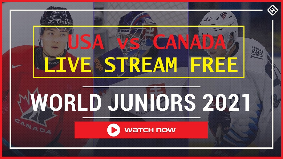 World Juniors continues with USA vs Canada. Learn how to live stream the hockey game on Reddit for free.