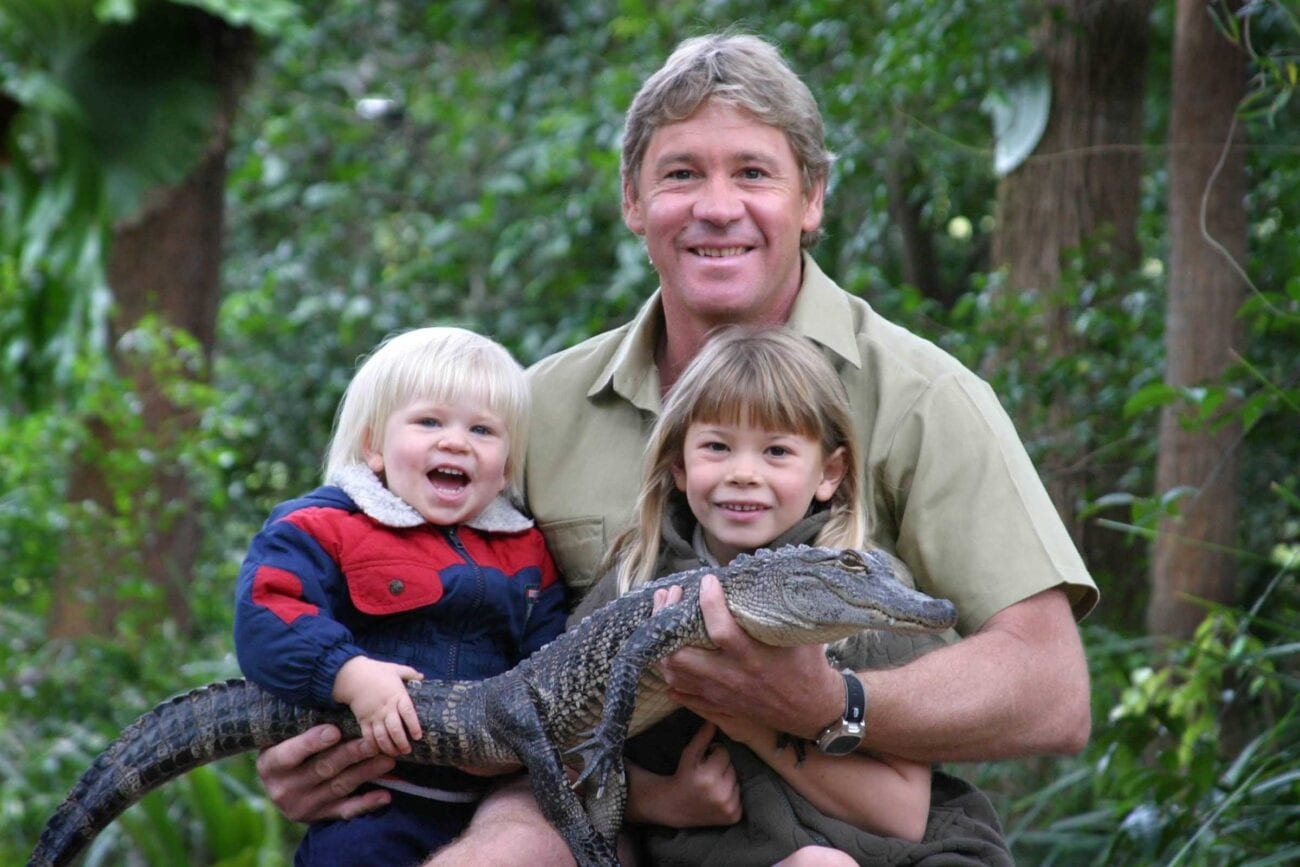 Long live the Crocodile Hunter! Scroll through some adorable pics of the kids of Steve Irwin who are keeping their father's legacy alive.