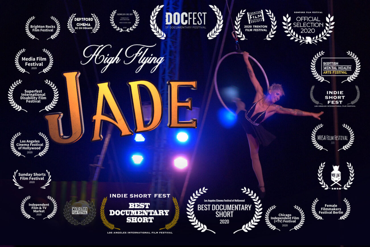 'High Flying Jade' is a new documentary by director Katherine Sweetman. Learn more about her and the inspiring doc here.