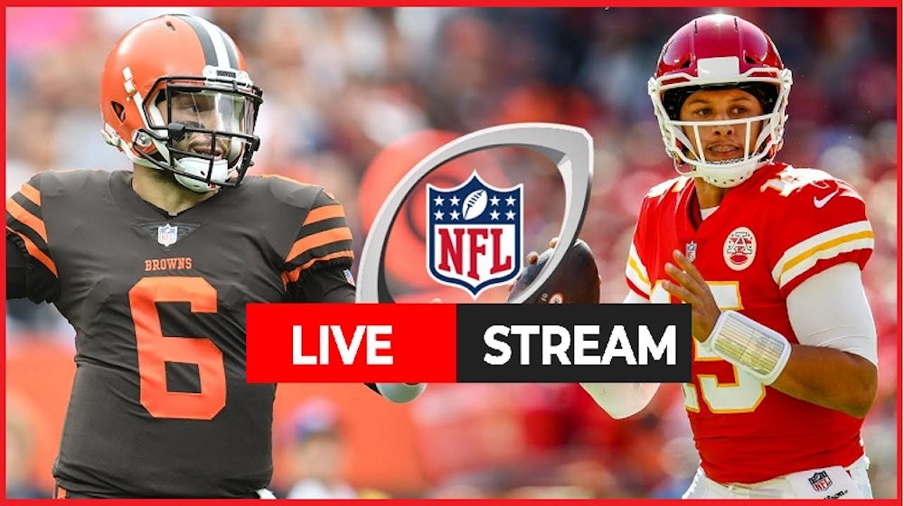 Defending Super Bowl champion Kansas City Chiefs will square off against the upstart Cleveland Browns. Here's how you can watch the live stream.