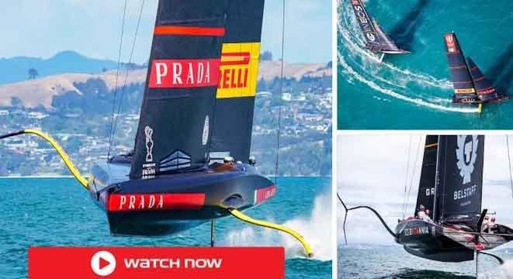 It has reached its knockout stage as Luna Rossa take on American Magic in the 2021 Prada Cup semifinal. Watch the live stream now.
