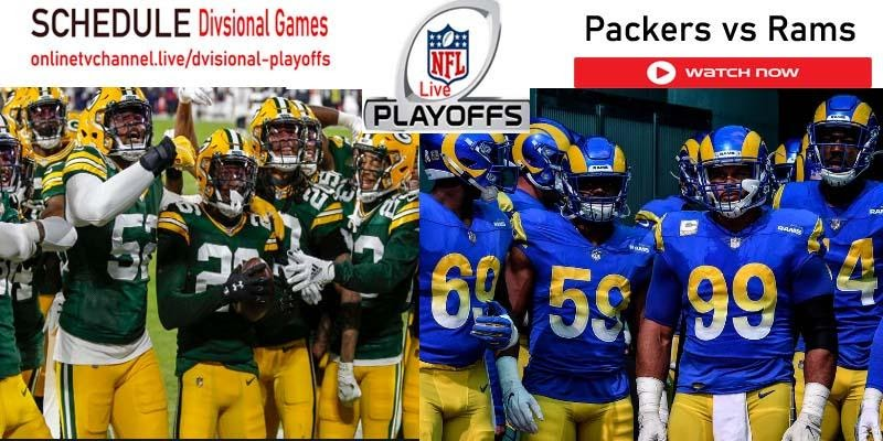Want to watch the Rams vs Packers game live? Here's where you can watch that and every other NFL playoffs game today.