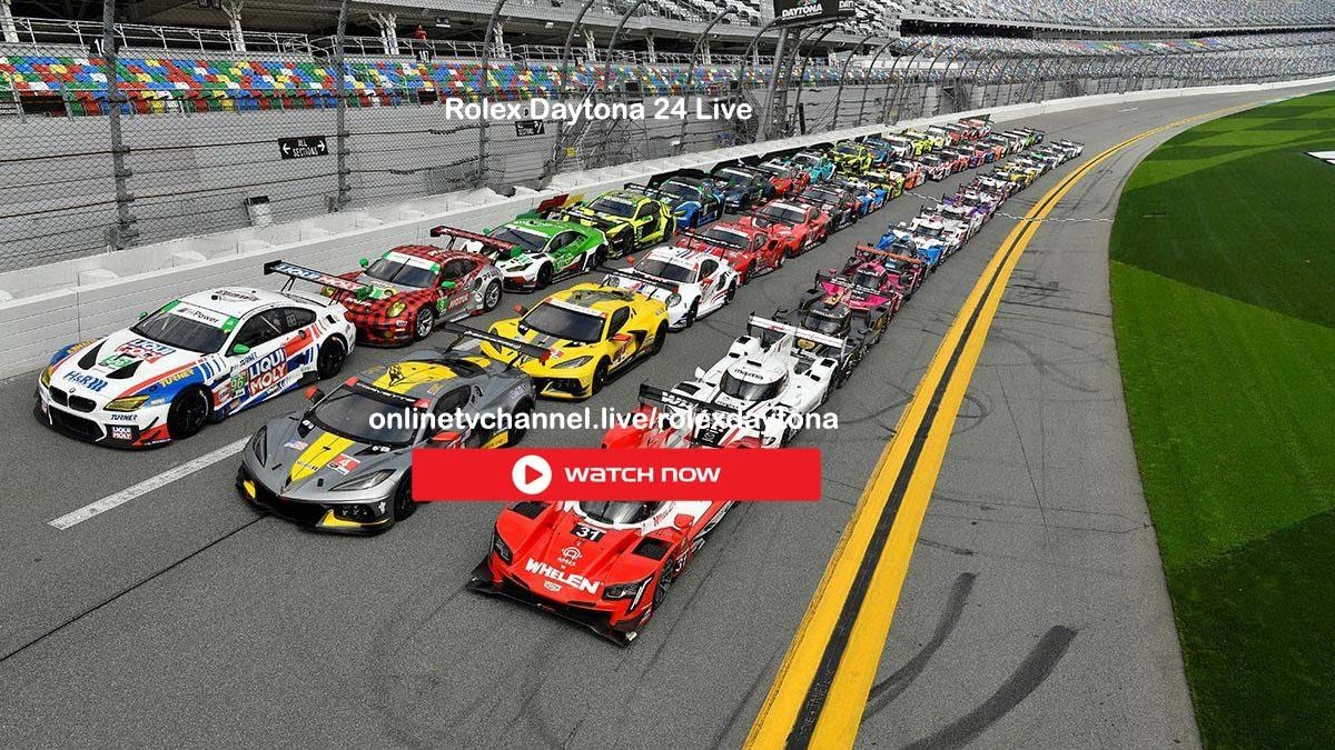 The Rolex 24 hours of Daytona is an exciting event for every car racing fan. Check out the best ways to live stream this exciting race.