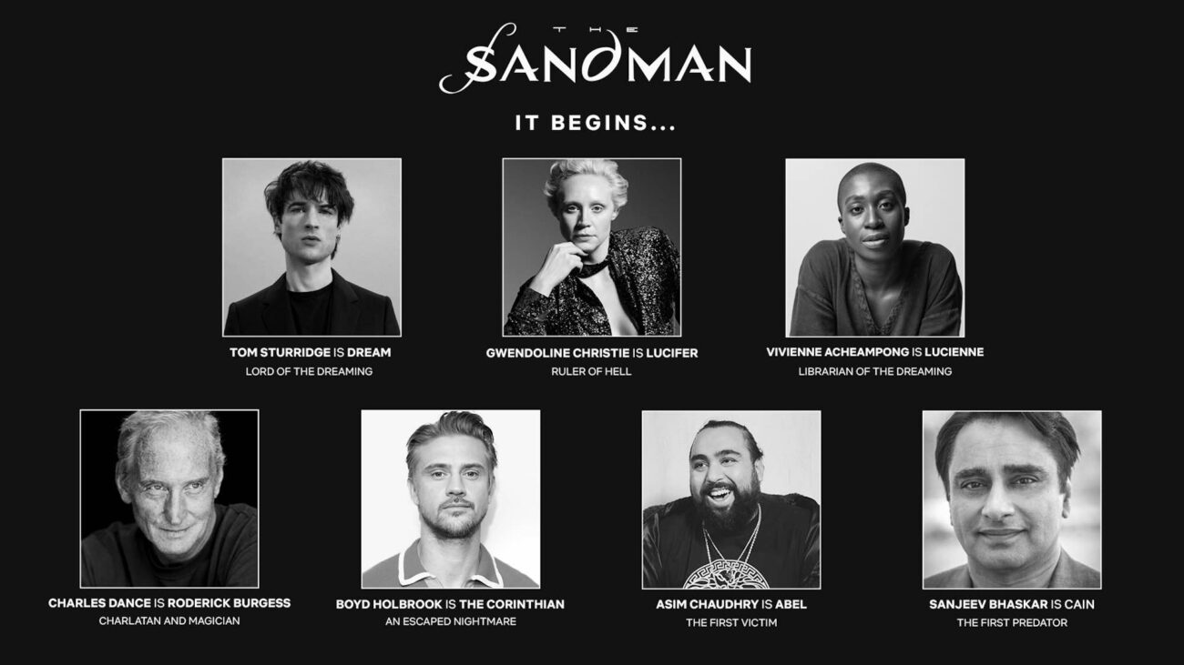 Netflix drops some major casting news for 'The Sandman'. Head into the Dreaming to learn more about the long-awaited live action adaptation.