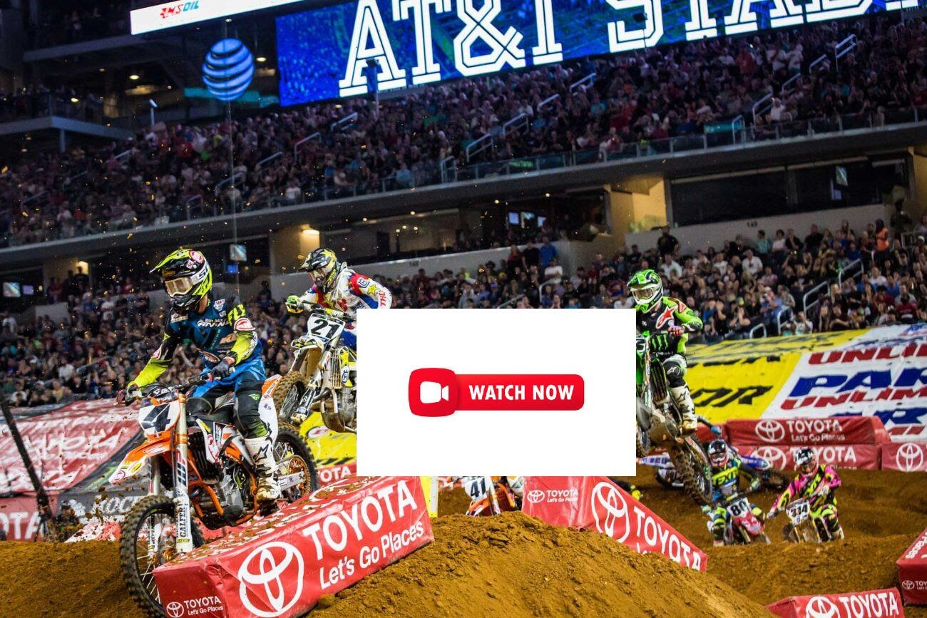 Check out the 2021 Monster Energy AMA Supercross by watching these live streams.