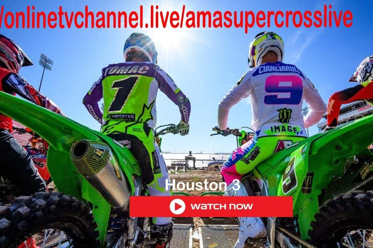 2021 AMA Supercross is going strong, and we know you're dying to watch. Check out these live steam links for the full schedule.
