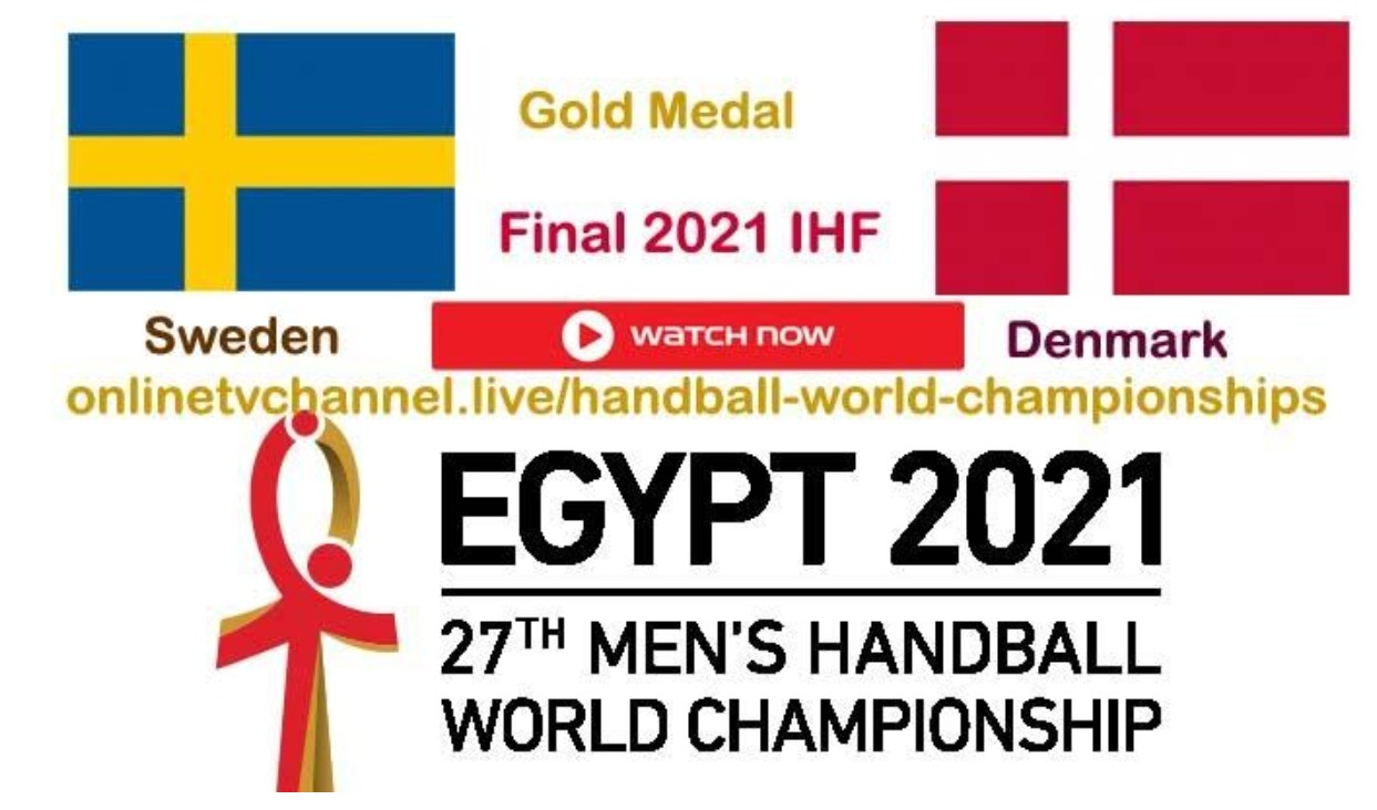 Sweden is gearing up to face Denmark in the World Men's Handball Championship 2021. Learn how to live stream the match here.