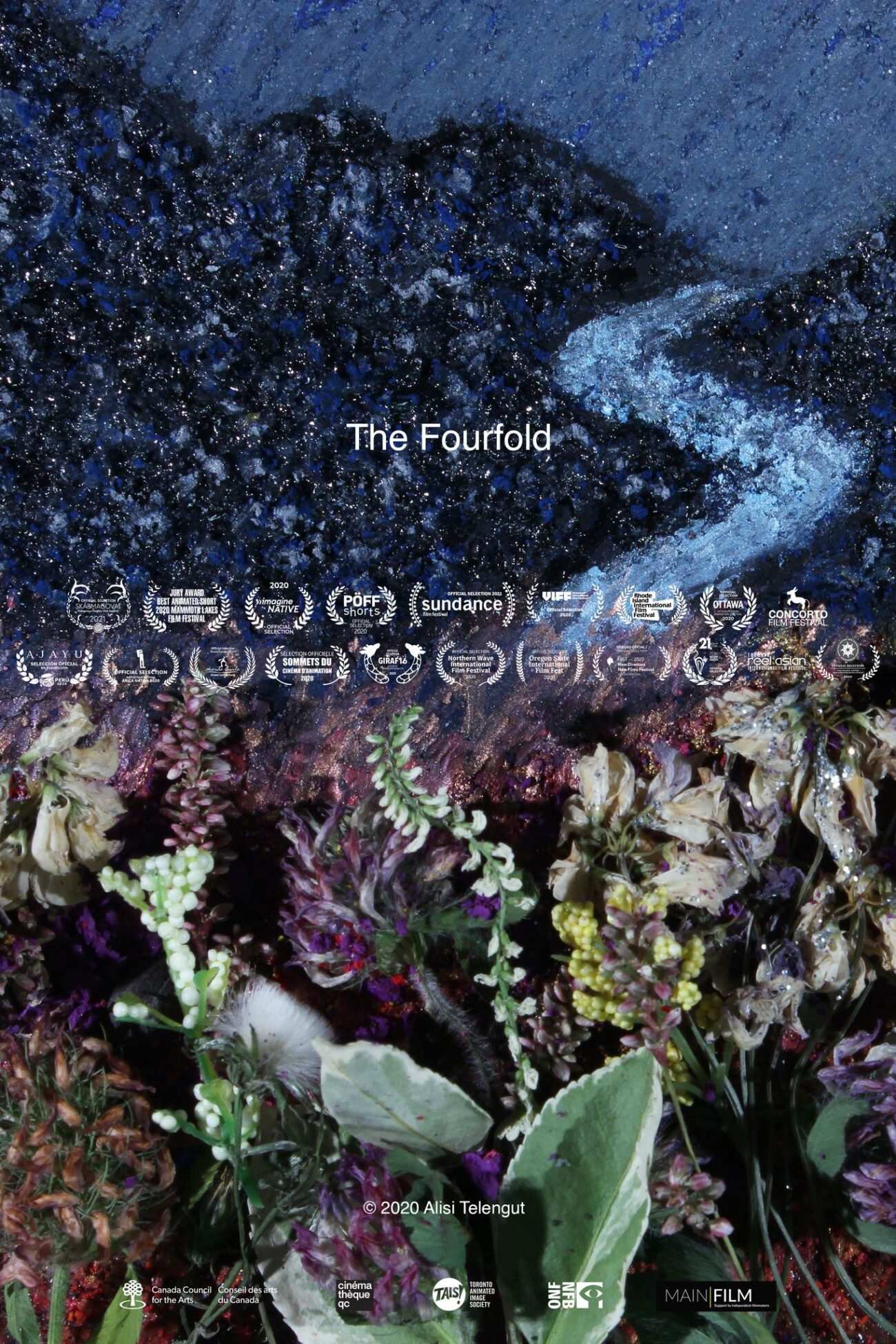 Canvas paintings are beautiful in themselves, but turning them into live films is extraordinary. Find beauty in the short film 'The Fourfold'.