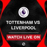 The Premier League continues on as fifth-ranked Liverpool faces Tottenham. Watch the live stream from Reddit now.