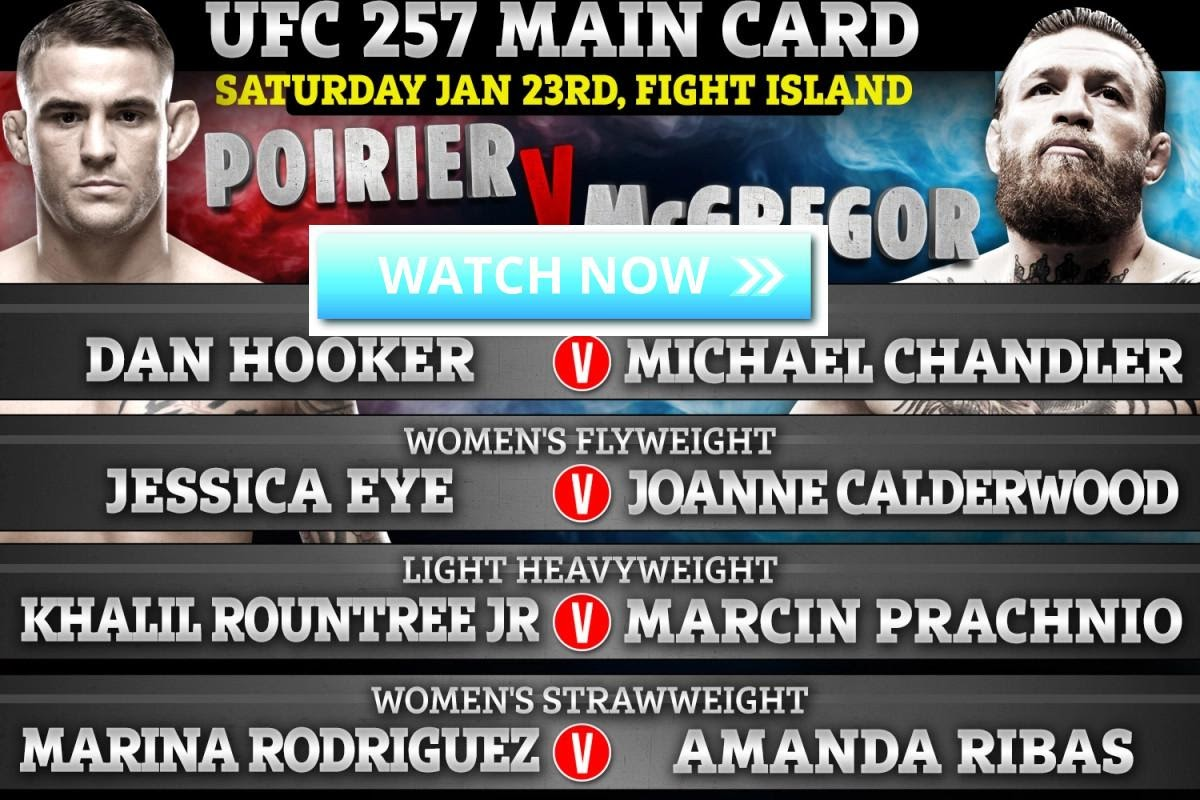 If you're dying to watch UFC 257, try one of these live stream sites to catch all the action.