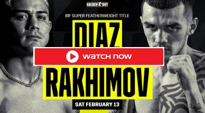 Looking for boxing streams to watch the Diaz vs Rakhimov boxing match? Look no further because we have the best places to stream the match here!