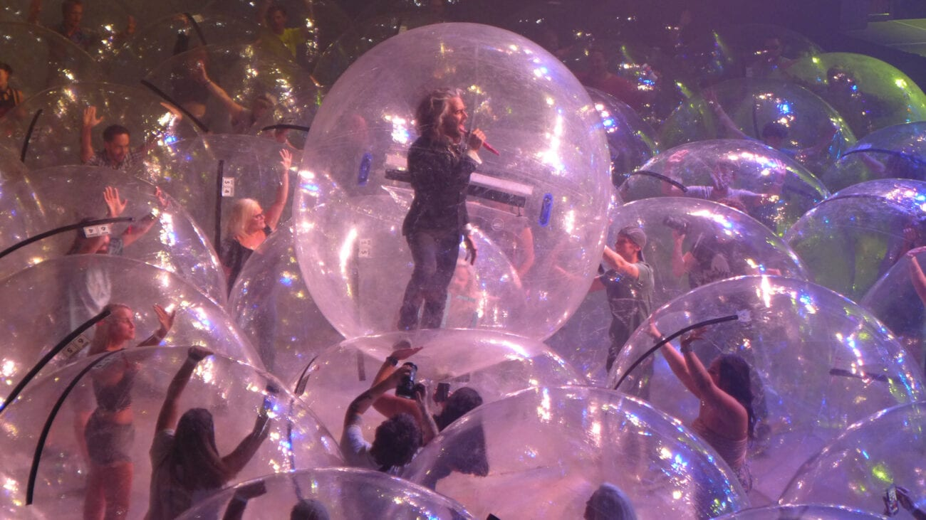 Can The Flaming Lips save concerts during the pandemic? Discover how putting everyone in plastic bubbles could be a genius idea.