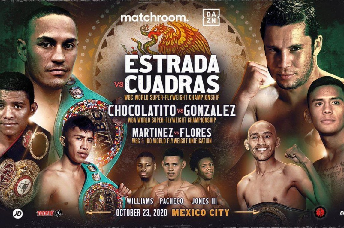 """Chocolatito"" Gonzalez is gearing up to face Estrada. Find out how to live stream the match online for free."