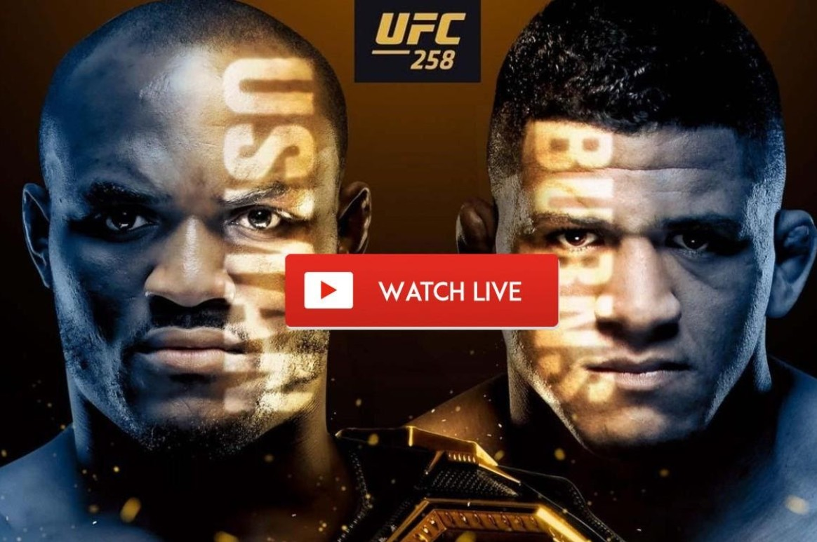UFC 258 is finally here. Find out how to live stream the fight between Usman and Burns online for free.
