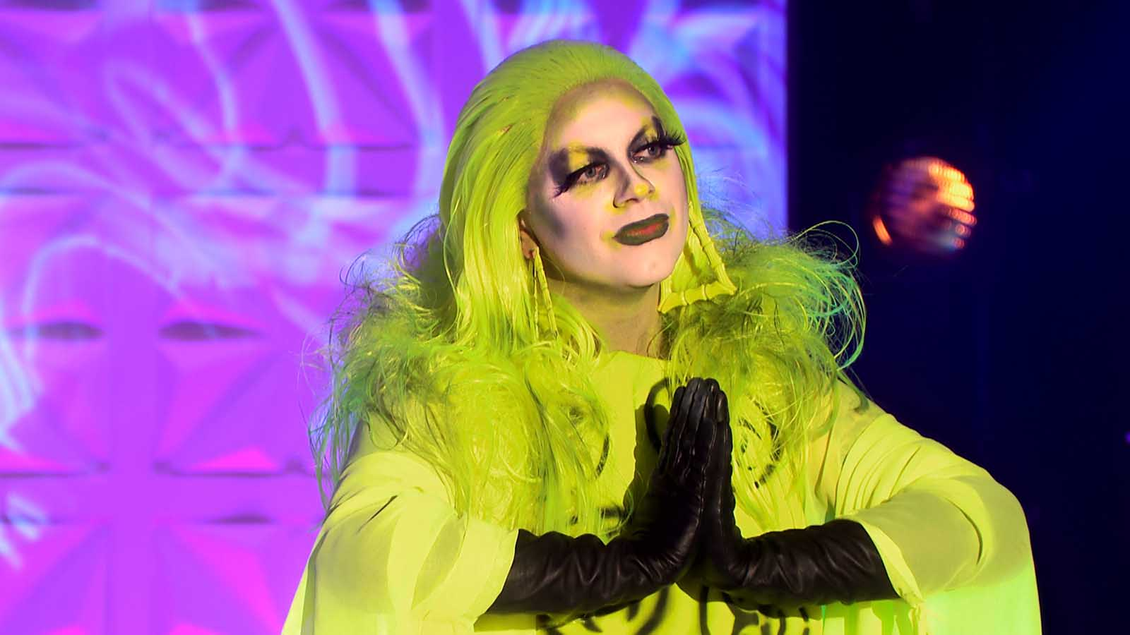 'Drag Race UK' made hertory last night with its elimination. Hear from the queen themselves on their shocking elimination.