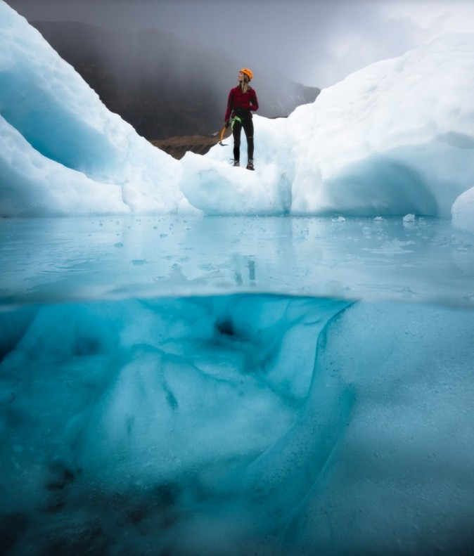 Josh Beames has taken lots of gorgeous photos of the Iceland Glaciers. Learn more about Beames and his art here.