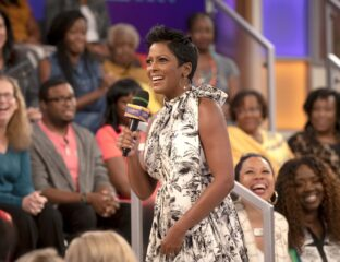 Tamron Hall stirred up controversy about her interview with disgraced former 'Drag Race' contestant Sherry Pie. We spill the tea.