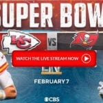 Kansas City Chiefs and Tampa Bay Buccaneers are set to play in football's biggest game. Check out the Reddit live stream here.
