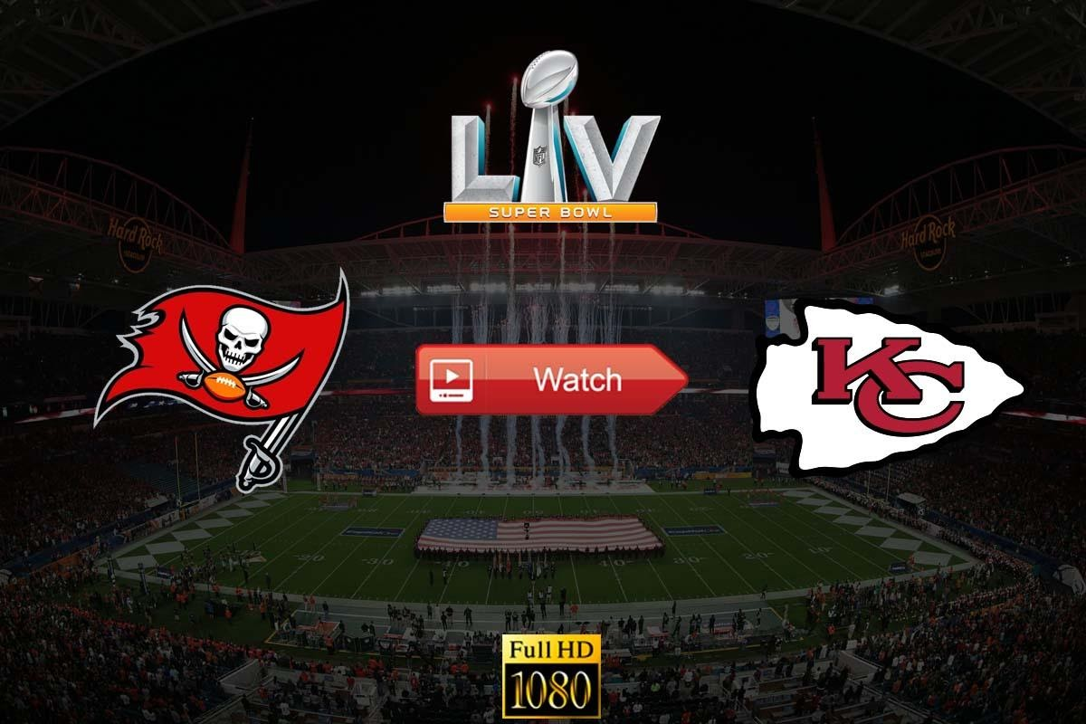 Super Bowl 55 is almost here, so get your live stream links ready. Here's all the places you can catch the NFL event online.