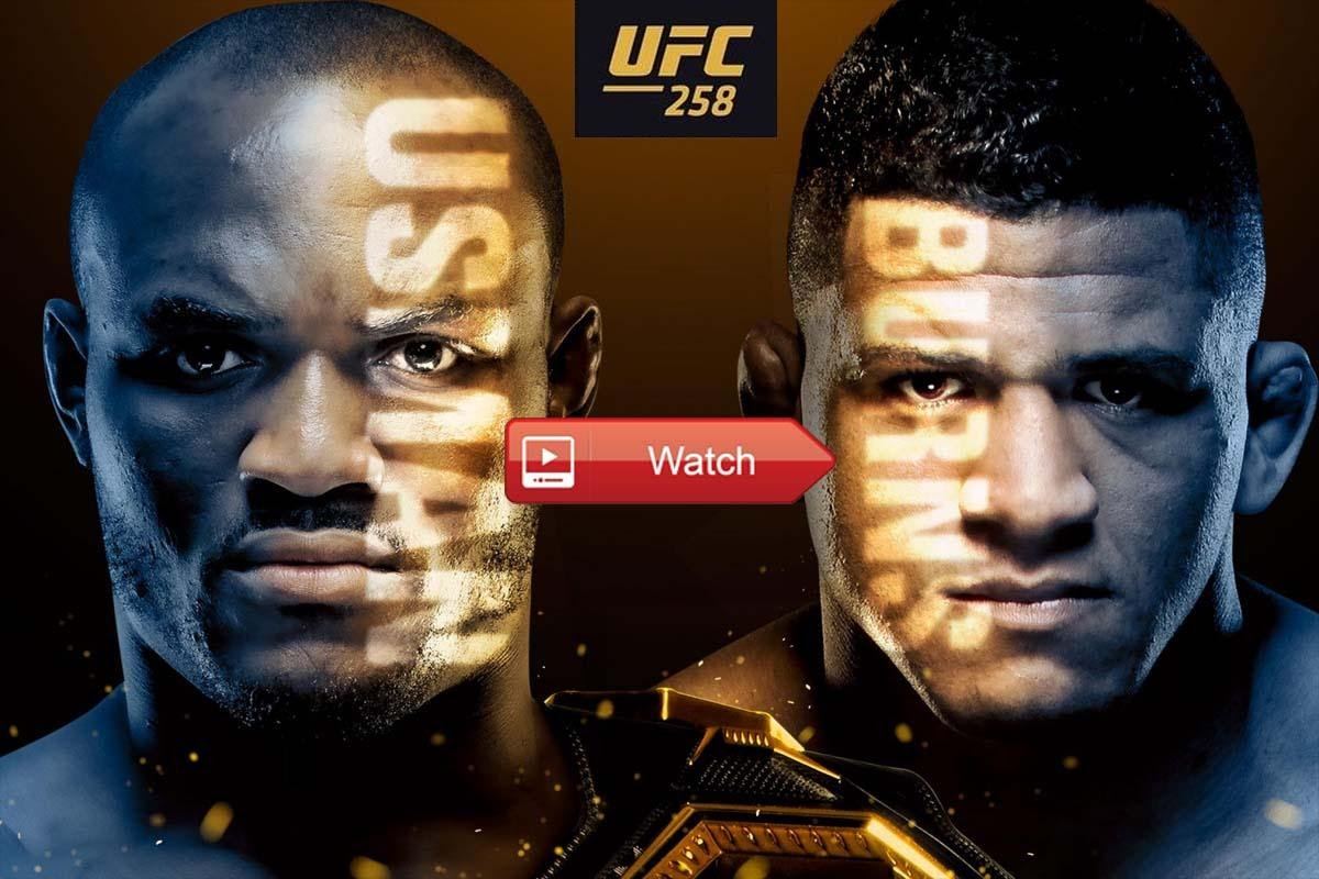 Kamaru Usman will fight Gilbert Burns in the main event of UFC 258. Check out the best ways to live stream this battle in the octagon.