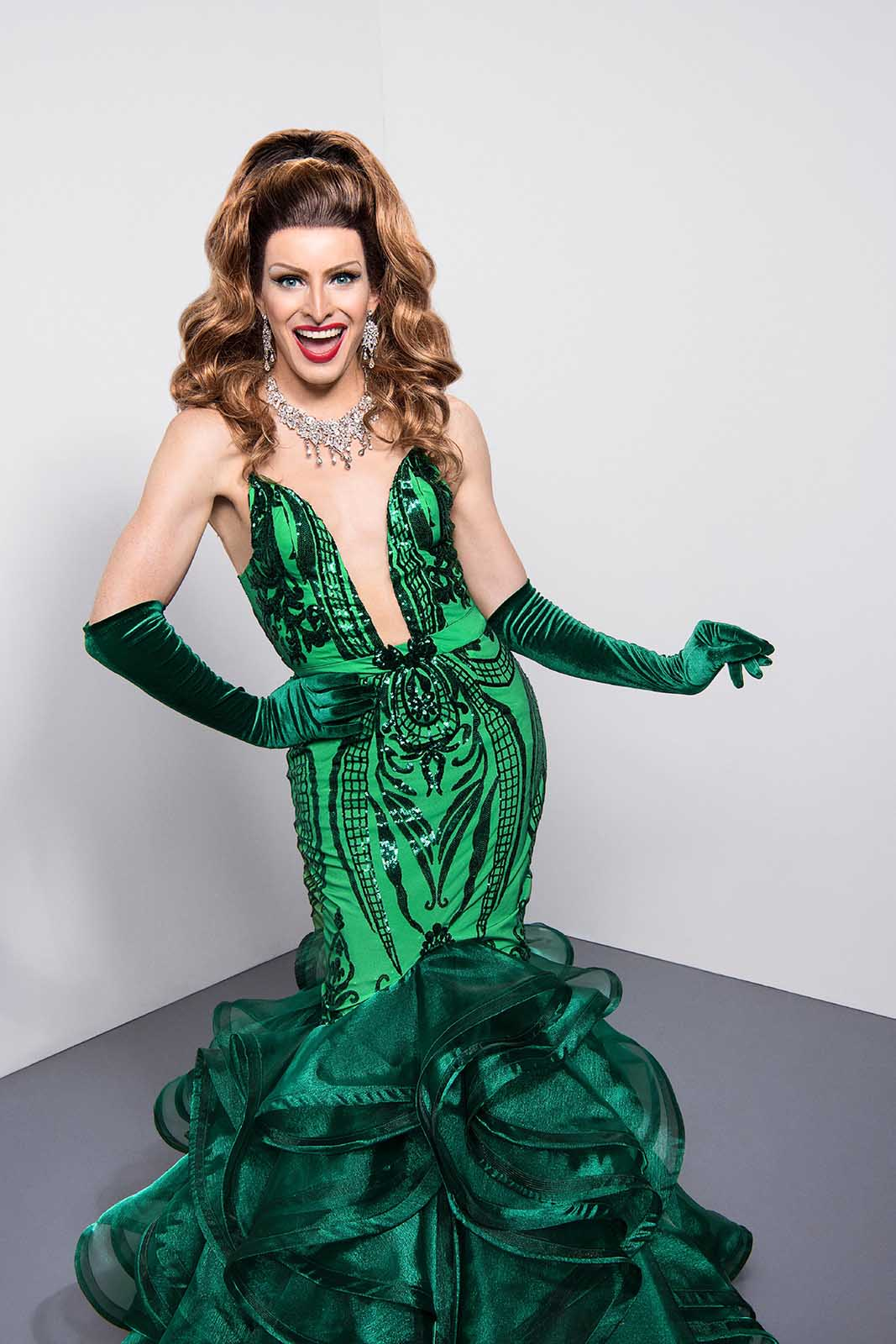 While the other queens of 'Drag Race UK' returned, Veronica Green was sidelined after testing positive from COVID. Hear her spill the tea on the season.